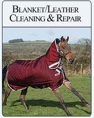 Bit-n-Bridle Children Blanket/Leather Cleaning & Repair